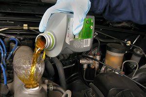 Mercedes Oil Change Service